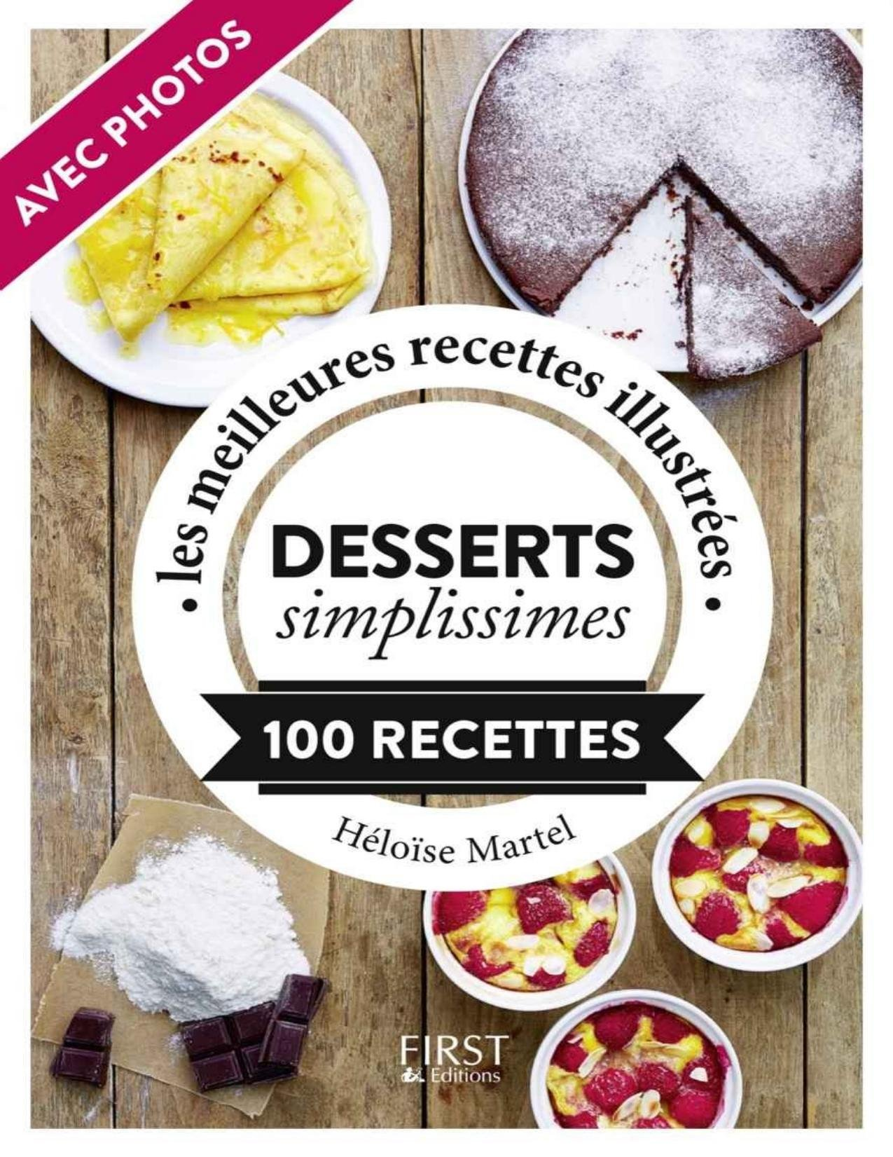 Petit Livre de Desserts simplissimes