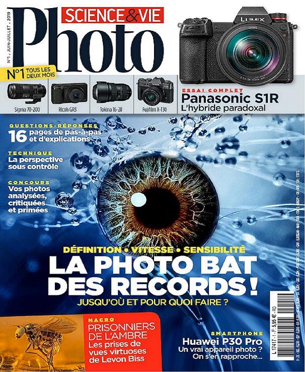 Science et Vie Photo N°1 – Juin-Juillet 2019