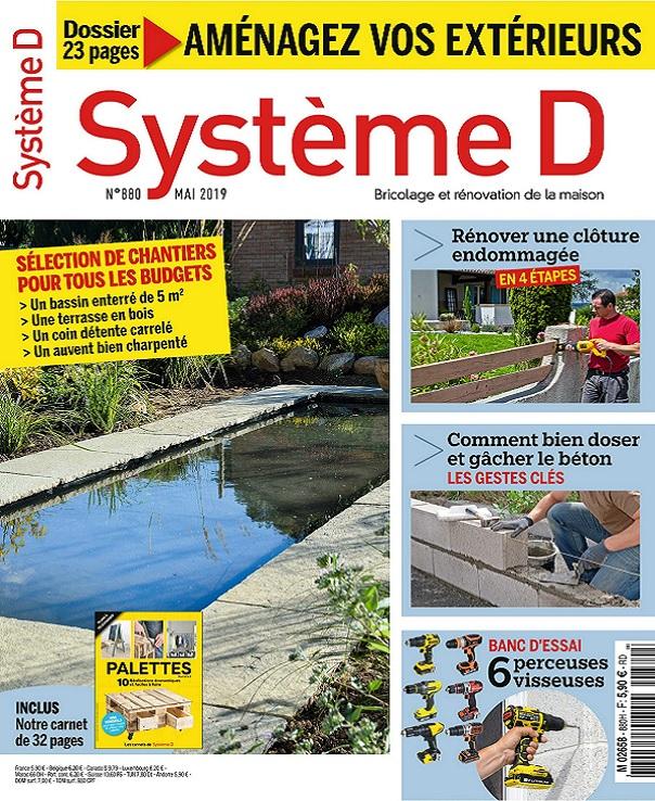 Système D N°880 – Mai 2019