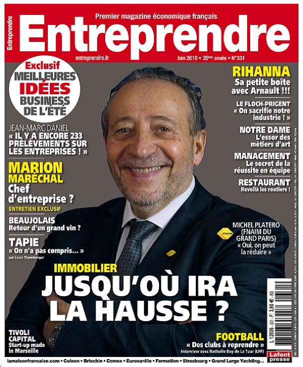 Entreprendre N°331 – Juin 2019