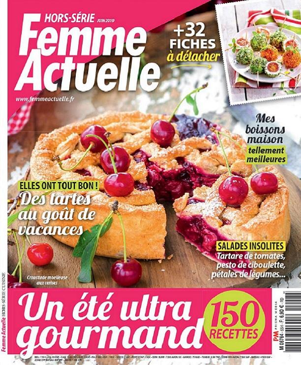 Femme Actuelle Hors Série Cuisine N°55 – Juin 2019