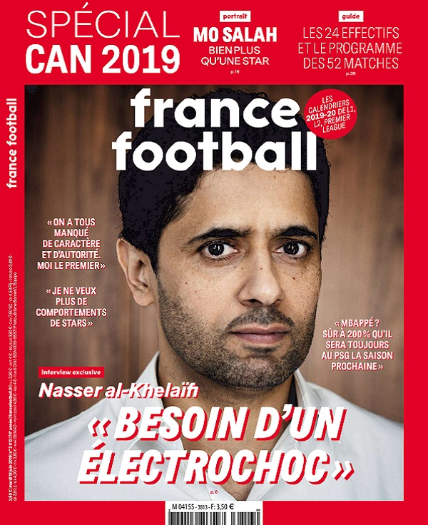 France Football N°3813 Du 18 Juin 2019