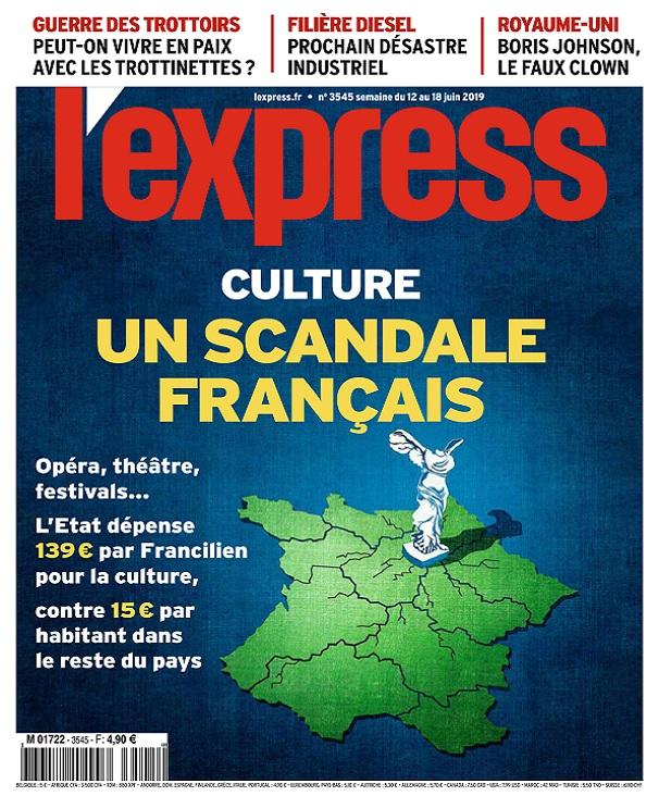 L'Express N°3545 Du 12 au 18 Juin 2019