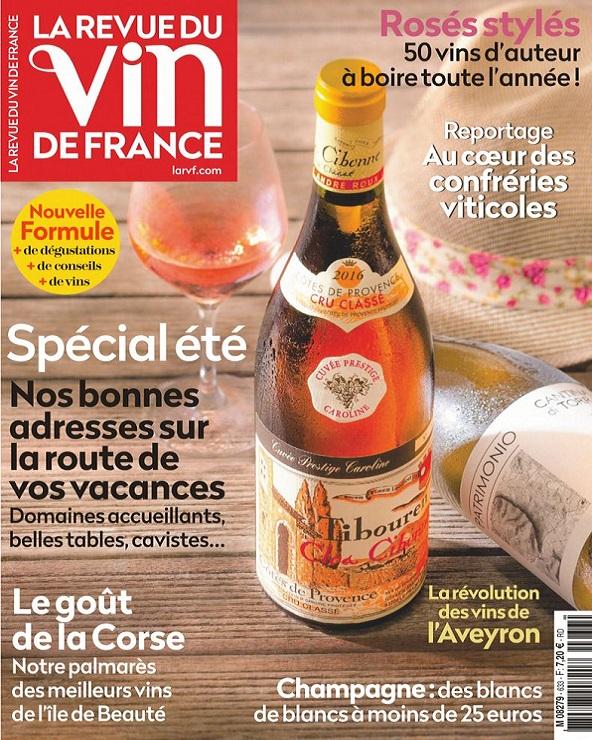 La Revue Du Vin De France N°633 – Juillet 2019