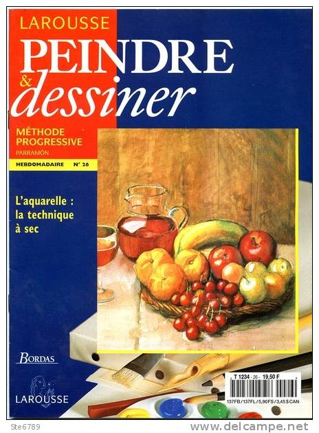 Larousse Peindre et Dessiner – Tome 3