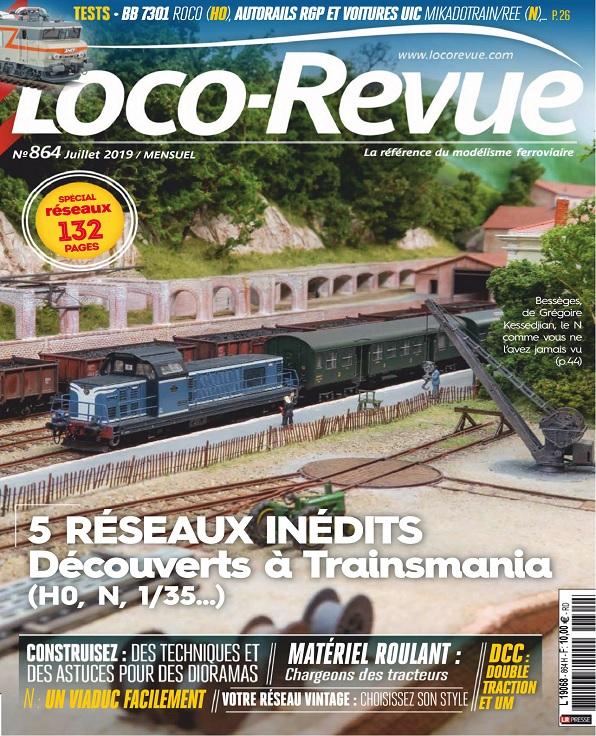 Loco-Revue N°864 – Juillet 2019