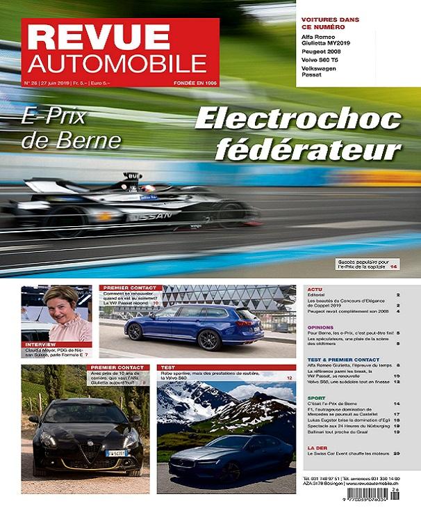 Revue Automobile N°26 Du 27 Juin 2019