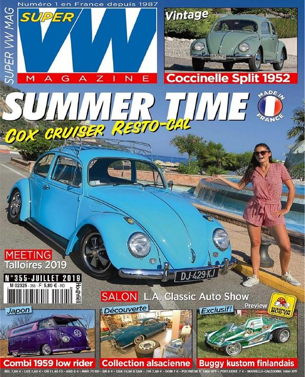 Super VW N°355 – Juillet 2019