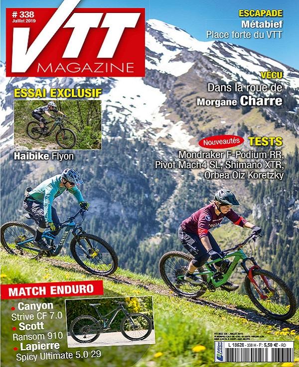 VTT Magazine N°338 – Juillet 2019