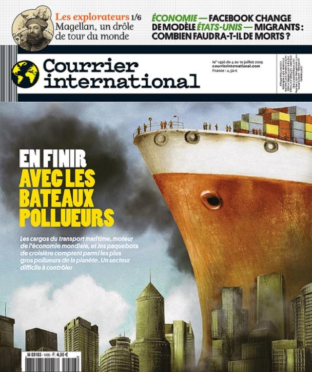 Courrier International N°1496 Du 4 au 10 Juillet 2019