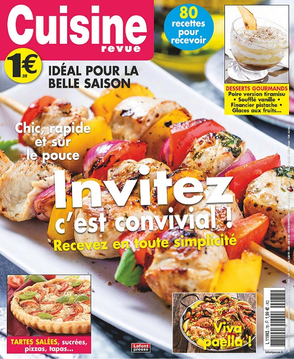 Cuisine Revue N°78 – Août-Octobre 2019