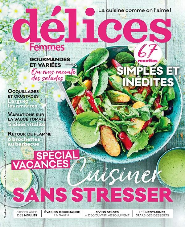 Délices de Femmes d'Aujourd'hui N°28 – Juillet 2019