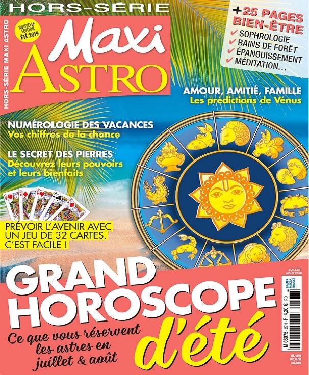 Maxi Hors Série Astro N°27 – Juillet-Août 2019