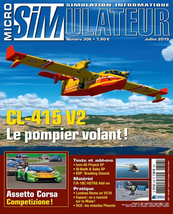 Micro Simulateur N°306 – Juillet 2019