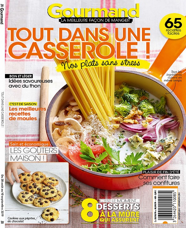 Gourmand N°431 Du 28 Août 2019