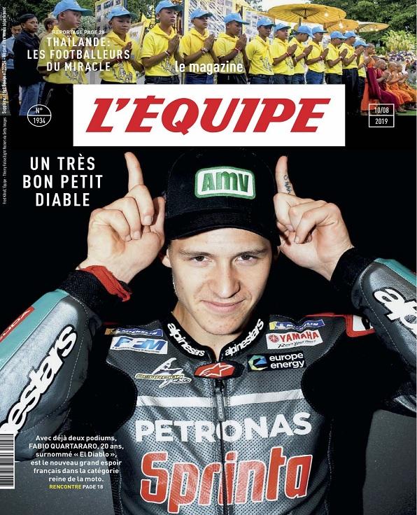 L'Equipe Magazine N°1934 Du 10 Août 2019