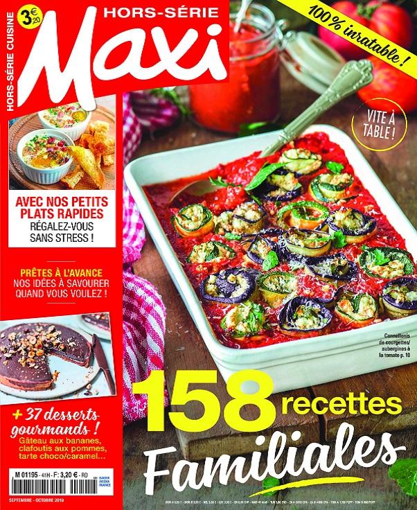 Maxi Hors Série Cuisine N°41 – Septembre-Octobre 2019
