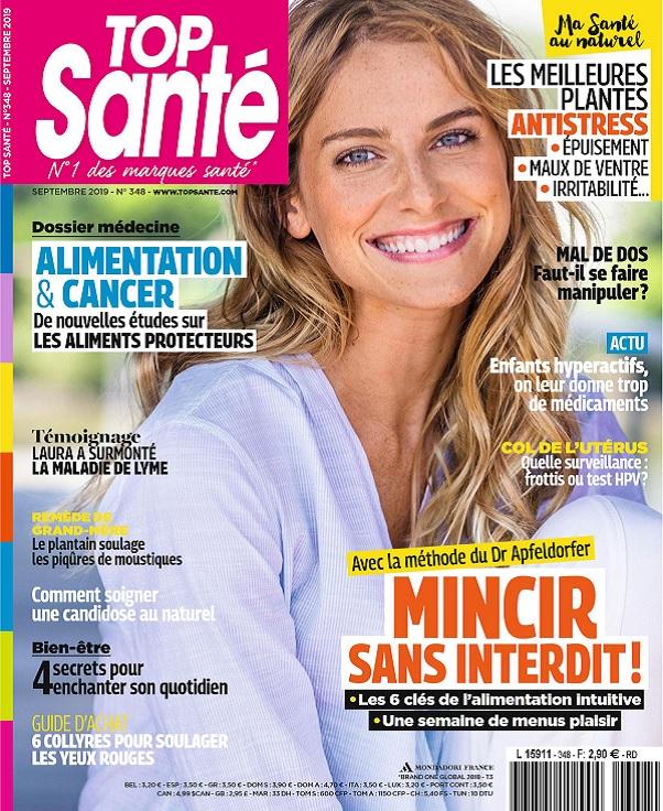 Top Santé N°348 – Septembre 2019