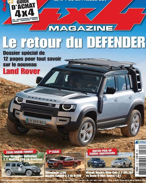 4×4 Magazine N°431 – Octobre-Novembre 2019
