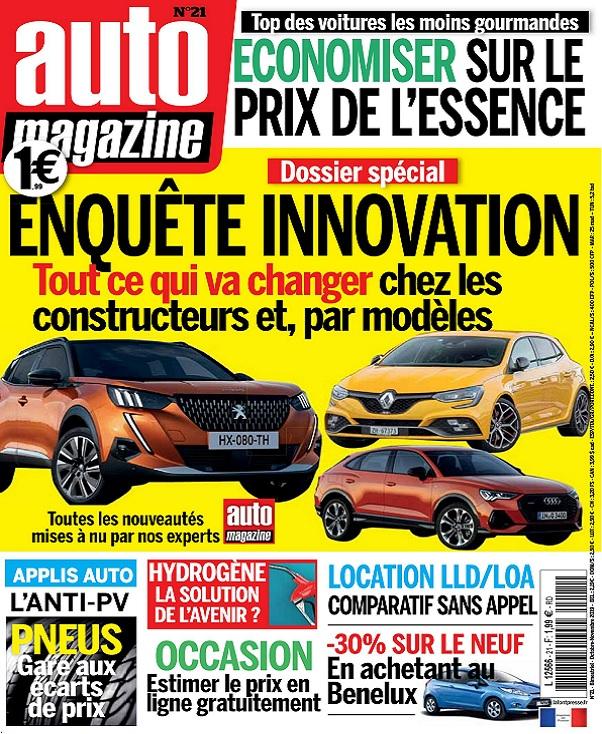 Auto Magazine N°21 – Octobre-Novembre 2019