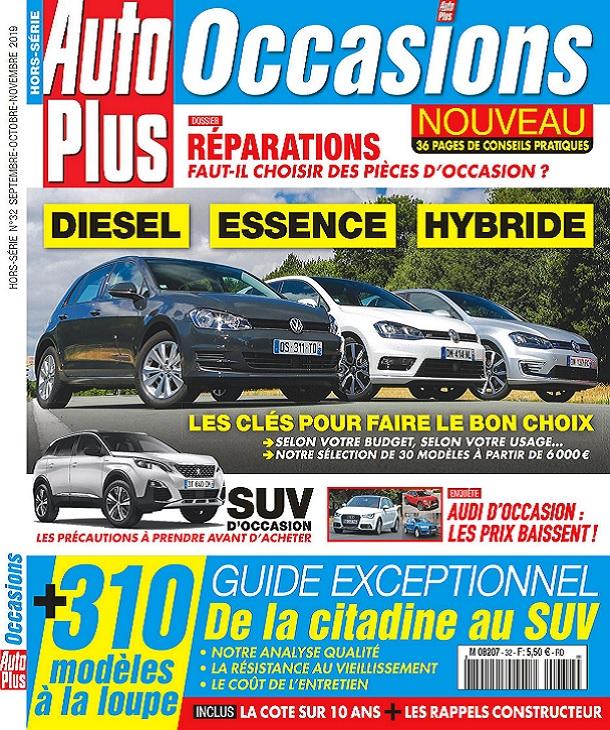 Auto Plus Occasions Hors Série N°32 – Septembre-Novembre 2019