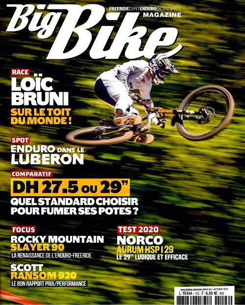 Big Bike Magazine N°123 – Octobre 2019