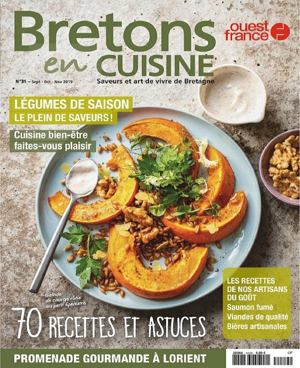Bretons en Cuisine N°31 – Septembre-Novembre 2019