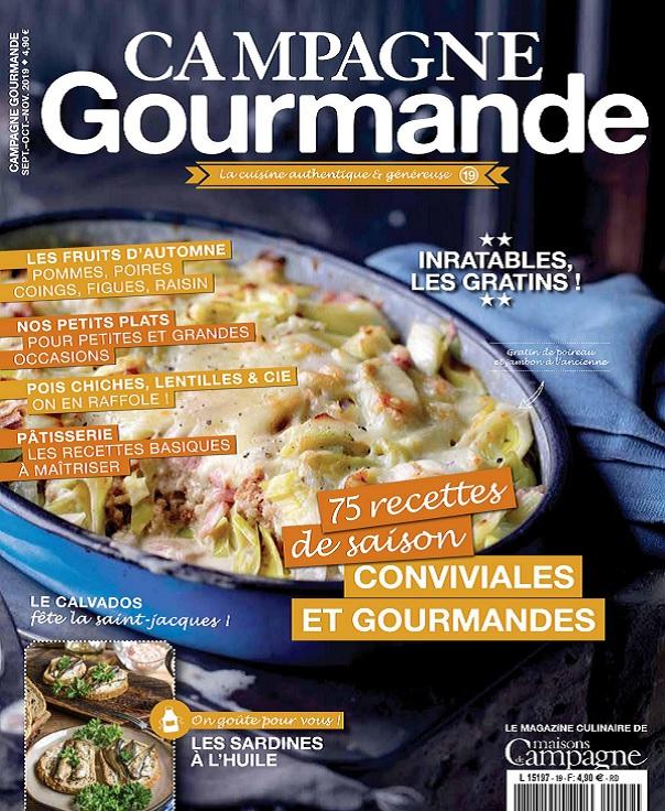 Campagne Gourmande N°19 – Septembre-Novembre 2019
