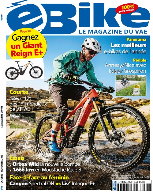 E Bike N°15 – Octobre-Novembre 2019