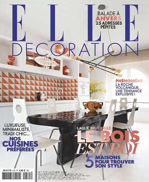 Elle Décoration N°275 - Octobre 2019 - Telecharger Des Magazines, Journaux  et Livres Gratuitement