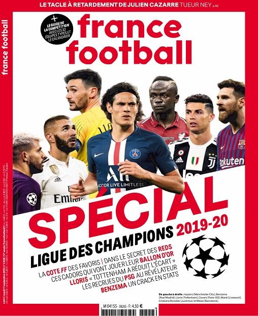 France Football N°3826 Du 17 Septembre 2019