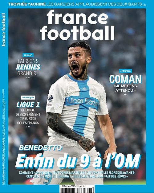 France Football N°3827 Du 24 Septembre 2019