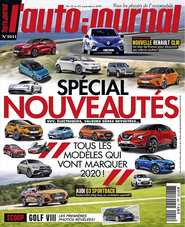 L'Auto-Journal N°1041 Du 12 au 25 Septembre 2019