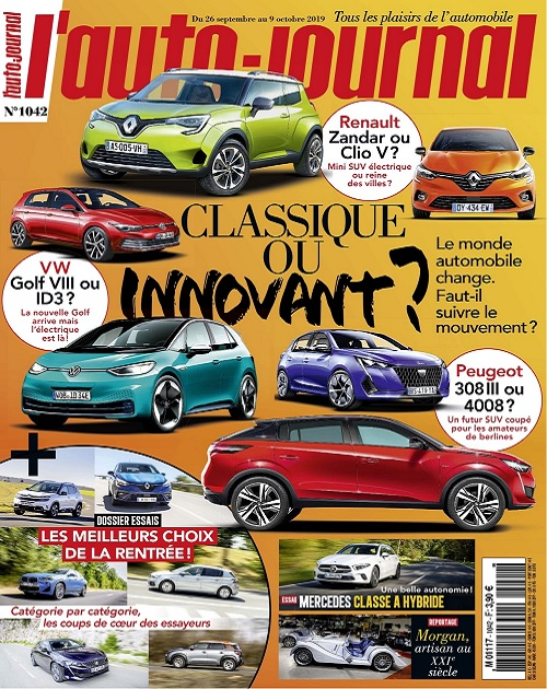 L'Auto-Journal N°1042 Du 26 Septembre 2019