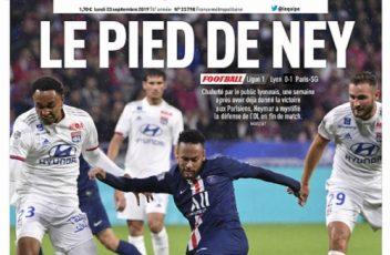 L'Equipe Du Lundi 23 Septembre 2019