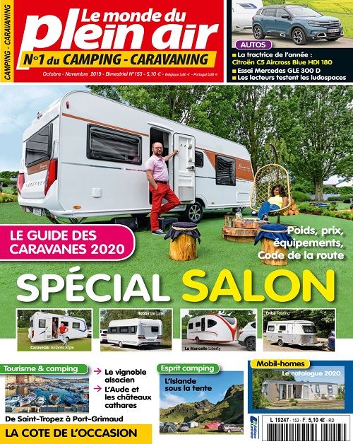Le Monde Du Plein-Air N°153 – Octobre-Novembre 2019