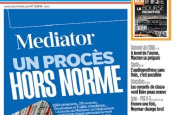 Le Parisien Du Lundi 23 Septembre 2019