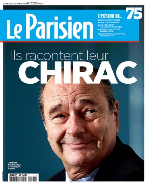 Le Parisien Du Samedi 28 Septembre 2019