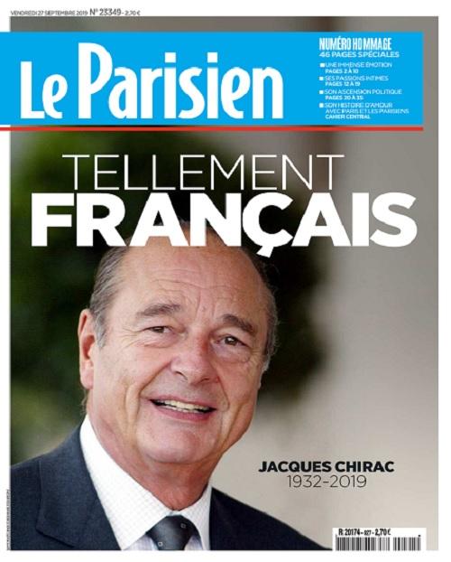 Le Parisien Du Vendredi 27 Septembre 2019