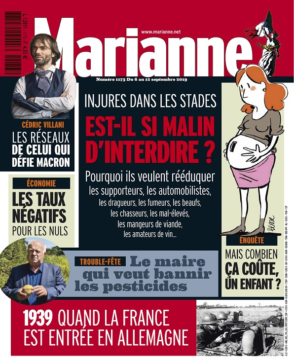 Marianne N°1173 Du 6 au 12 Septembre 2019