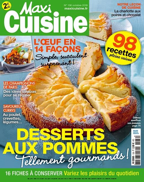 Maxi Cuisine N°136 – Octobre 2019