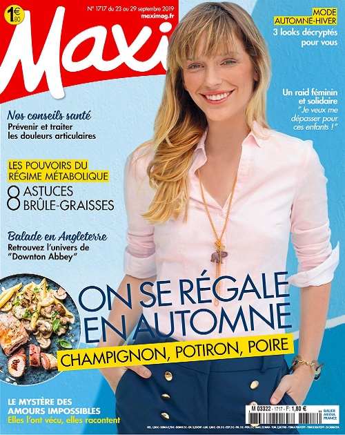Maxi N°1717 Du 23 Septembre 2019