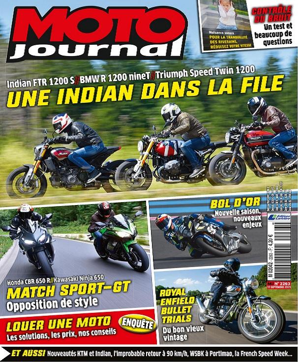 Moto Journal N°2263 Du 11 Septembre 2019