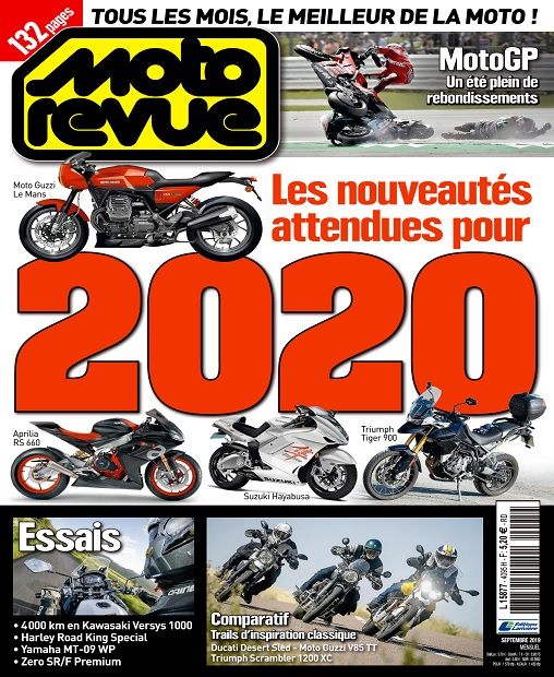 Moto Revue N°4095 – Septembre 2019