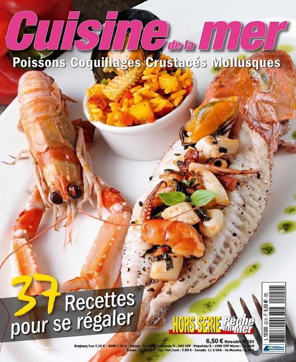 Pêche en Mer Hors Série Cuisine De La Mer N°22 –  Septembre 2019