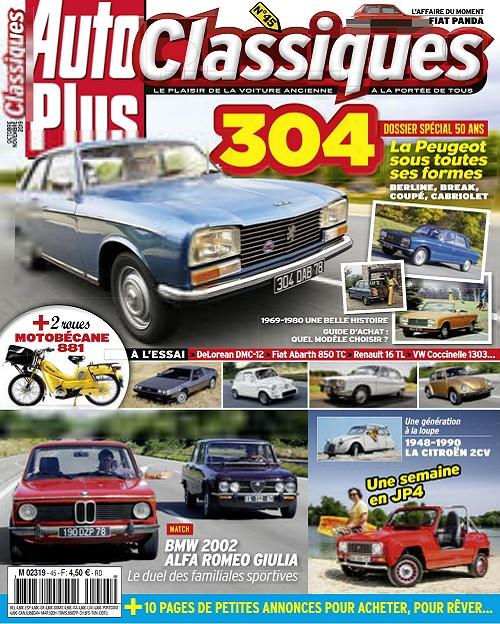 Auto Plus Classiques N°45 – Octobre-Novembre 2019