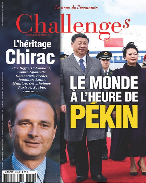 Challenges N°624 Du 3 Octobre 2019