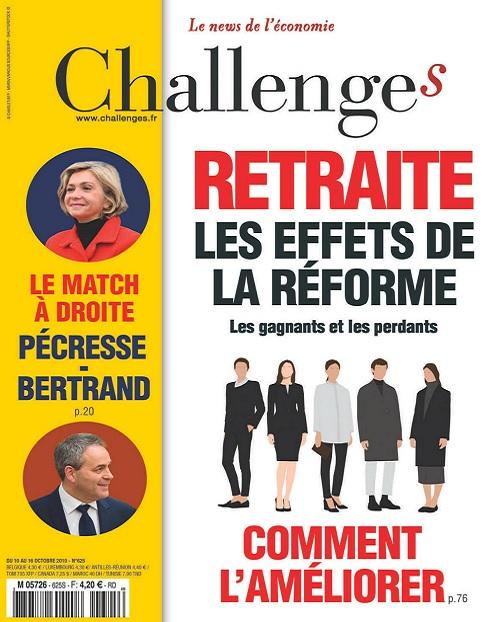 Challenges N°625 Du 10 au 16 Octobre 2019