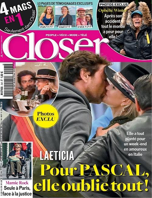 Closer N°747 Du 4 au 10 Octobre 2019