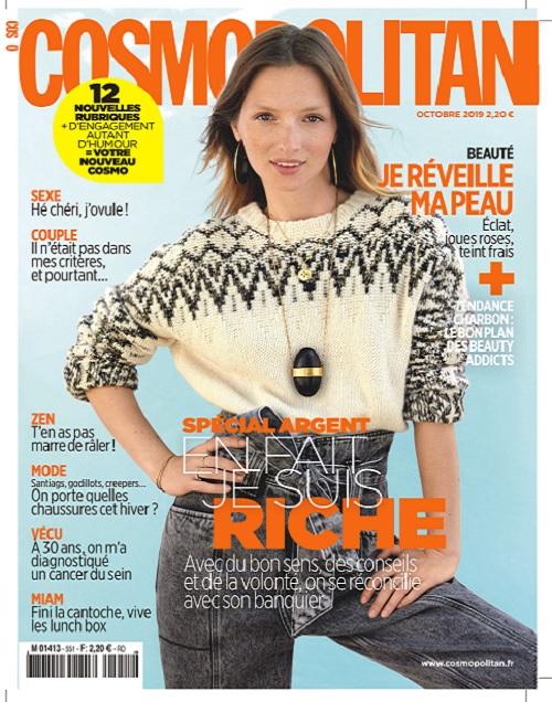 Cosmopolitan N°551 – Octobre 2019